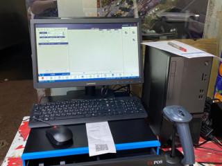 كاشير مكتبى كامل مع برنامج محاسبى للفاتورة الالكترونية